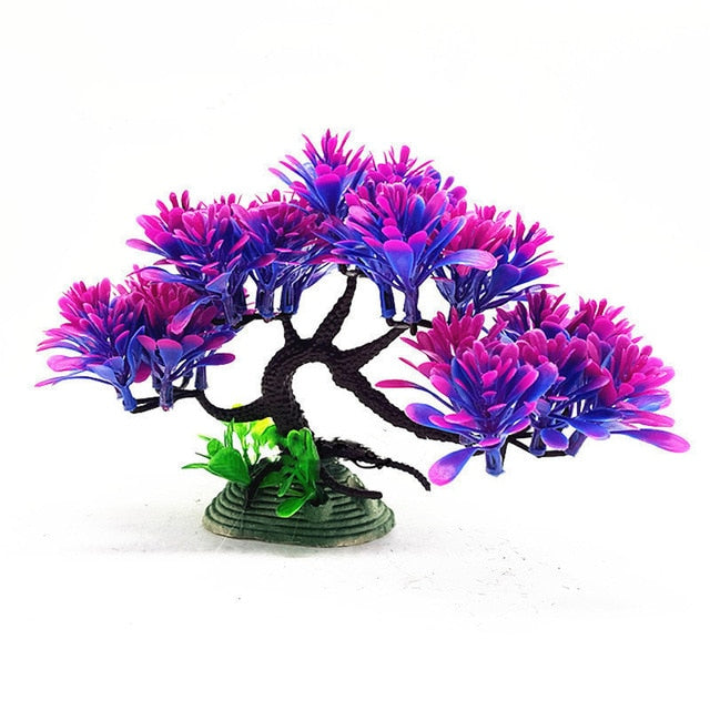 Simulation Artificial Plants Aquarium Decor Water Weeds Ornament Plant Fish Tank Aquarium Grass Fish Tank Submersible Decoration