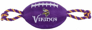 MINNESOTA VIKINGS FOOTBALL DOG TOY