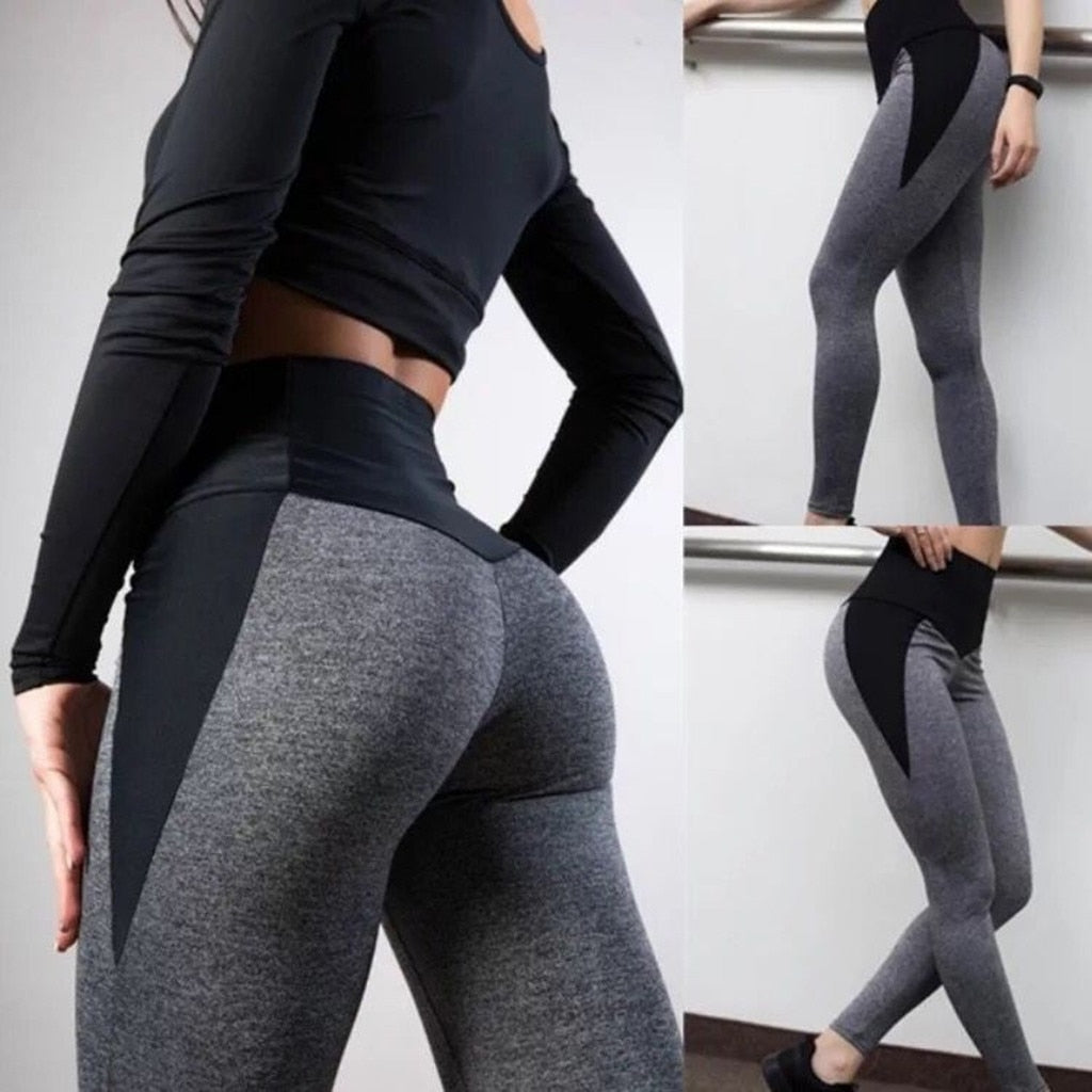 Seamless Workout Leggings High Waist - LuxemApparel