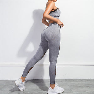 2 Piece Sports Bra and Leggings Yoga Set - LuxemApparel