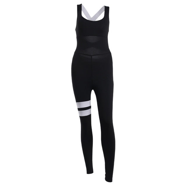 Active Women Yoga Jumpsuit One Piece - LuxemApparel