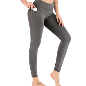 Open image in slideshow, Fashion Scrunch Butt Leggings with pocket - LuxemApparel