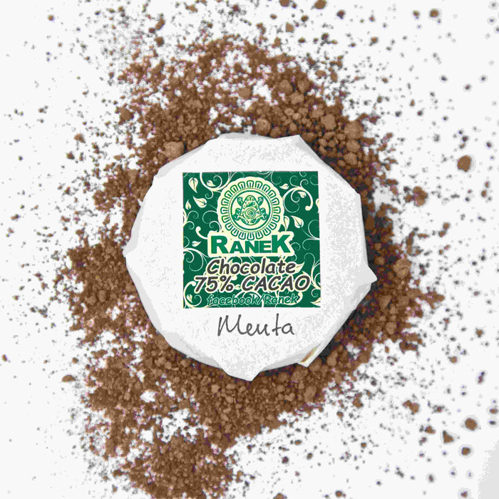 Chocolate de Tabasco con Menta 90 gr