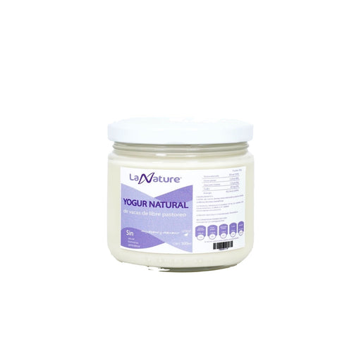 Yogur natural de vaca 300 ml - La Nature