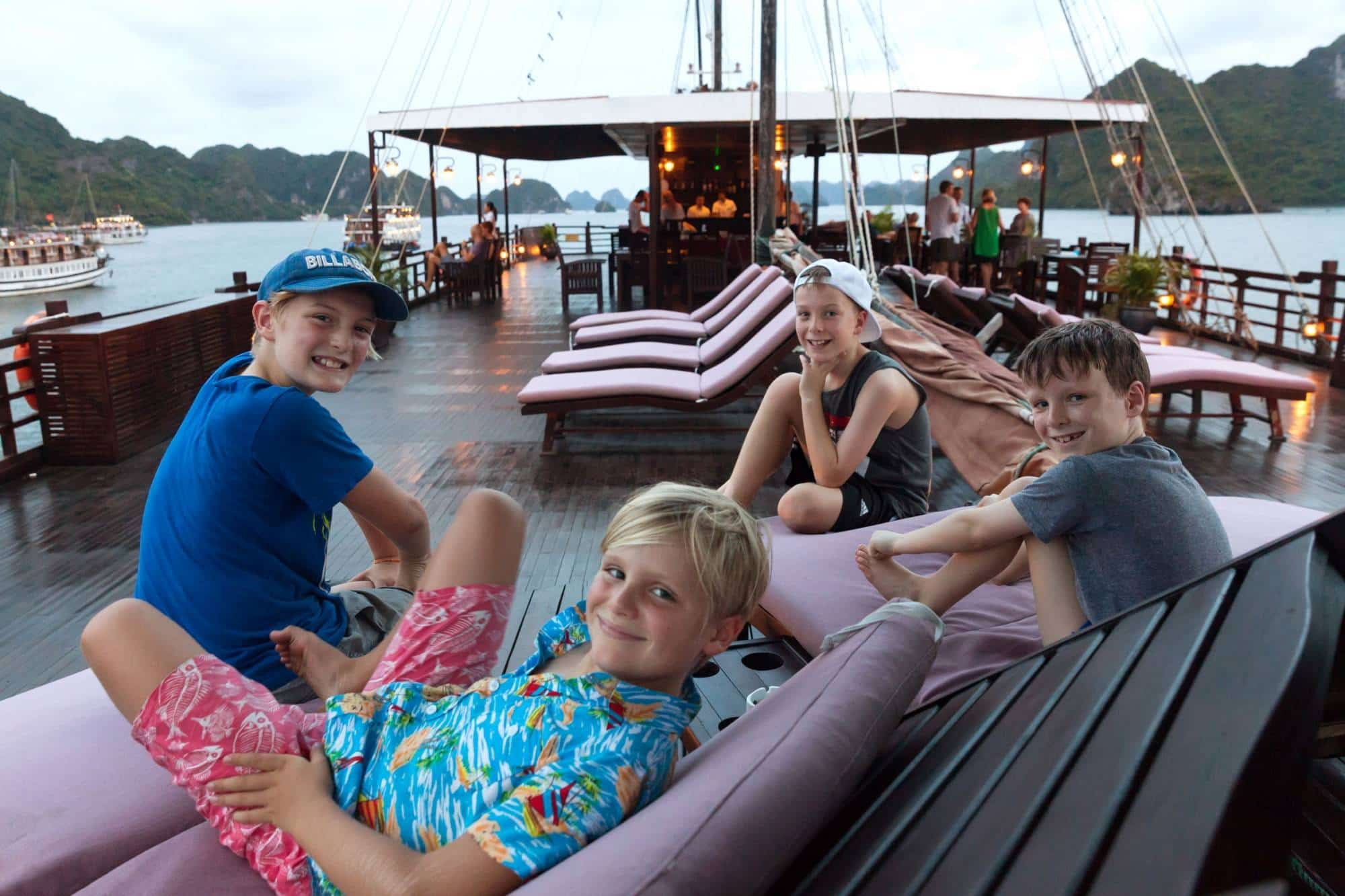 Tips to choose the best Halong bay cruise with kids