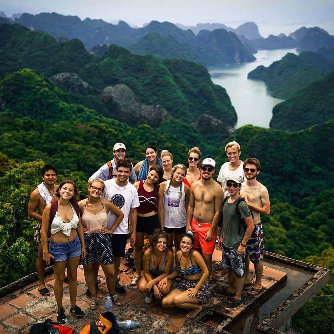 Discovering amazing activities Ti Top Island Halong Bay