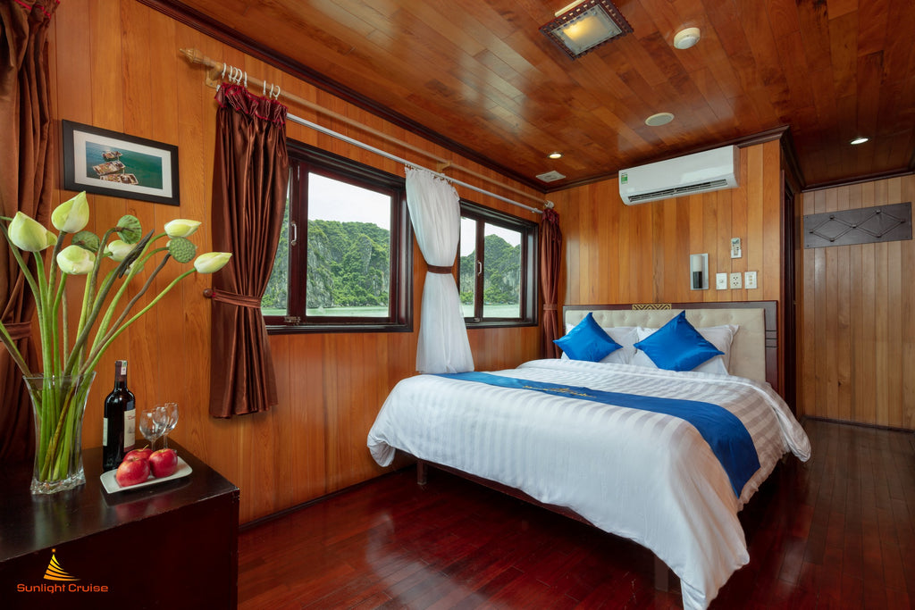 explore Halong Bay in a luxury cruise