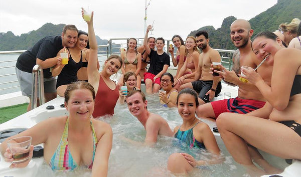 Halong Bay party tour
