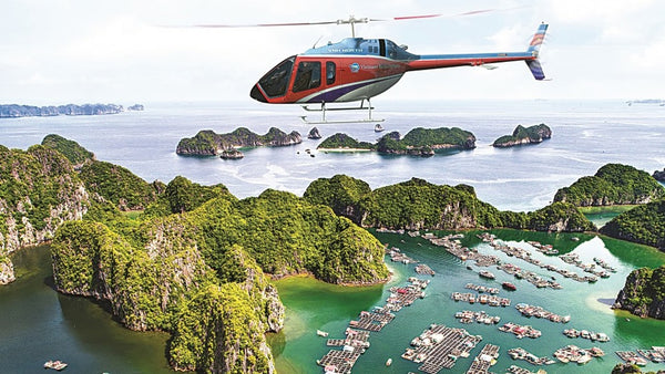 View Halong Bay from Above