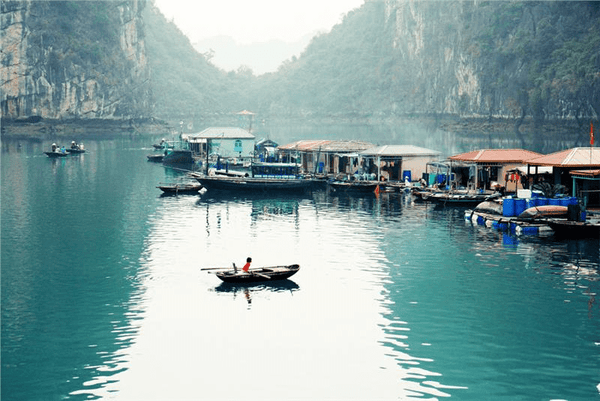Halong Bay fishing villages