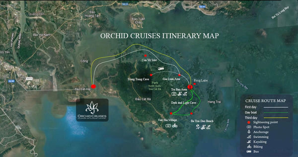 [Lowest Price] Orchid Cruise - Suite Cabin with Balcony - 2D1N - HalongDayTour