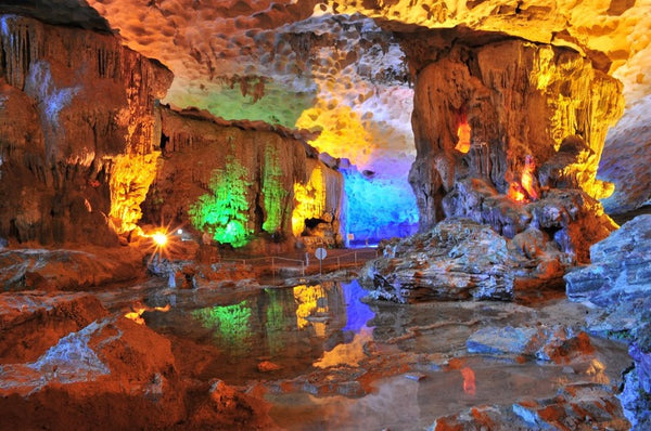 incredible caves and caverns in Ha Long