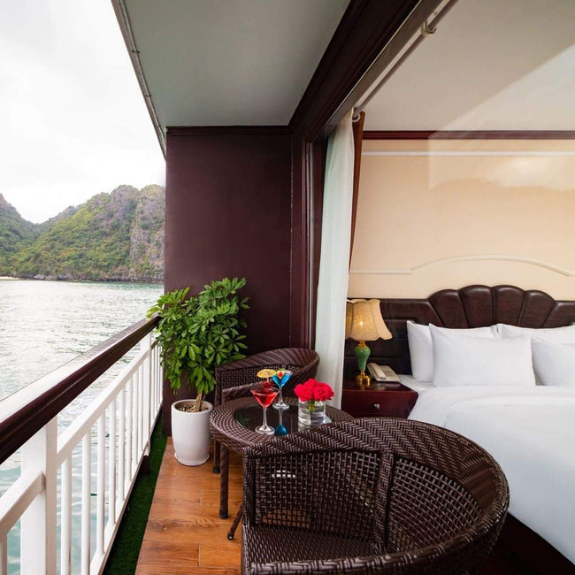 Dora Cruise - Junior Suite with Private Balcony - 2D1N - Halongdaytour