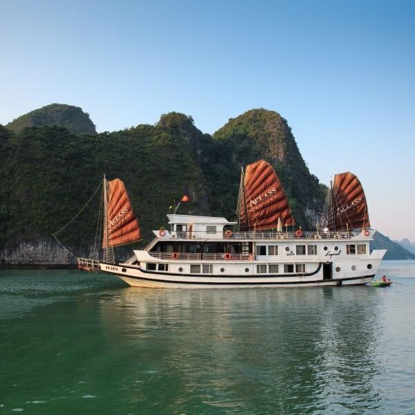 [Lowest Price] Aclass Legend Cruise - Deluxe Cabin - 2D1N - HalongDayTour