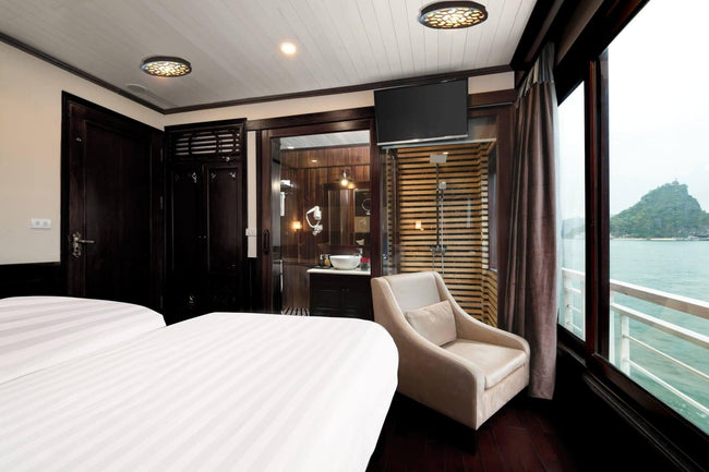 [Lowest Price] Alisa Cruise - Junior Suites Ocean View - 3D2N - HalongDayTour