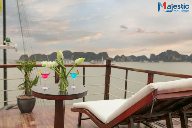[Lowest Price] Halong Majestic Legend Cruise - Deluxe Cabin - 3D2N - HalongDayTour