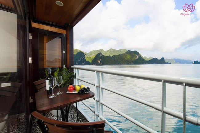[Lowest Price] Magenta Cruise - Deluxe Balcony Cabin - 3D2N - HalongDayTour