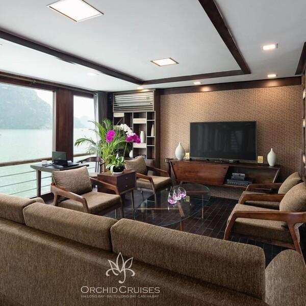 [Lowest Price] Orchid Cruise - Suite Cabin with Balcony - 3D2N - HalongDayTour