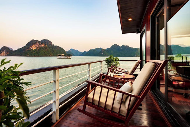 [Lowest Price] Orchid Premium Cruise - Terrace Suite - 2D1N - HalongDayTour