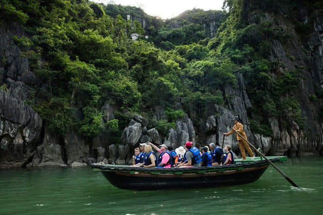 [Lowest Price] Pelican Halong Cruise - Deluxe Ocean View - 2D1N - HalongDayTour