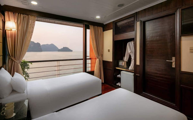 [Lowest Price] Pelican Halong Cruise - Deluxe Ocean View - 2D1N