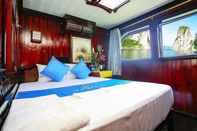 [Lowest Price] Sunlight Boutique Cruise - Deluxe Cabin - 2D1N - HalongDayTour