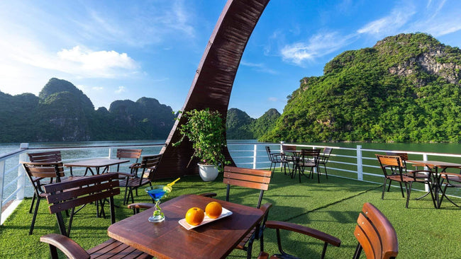 [Unbeatable Price] Amazing Sails Luxury - Day Cruise - HalongDayTour