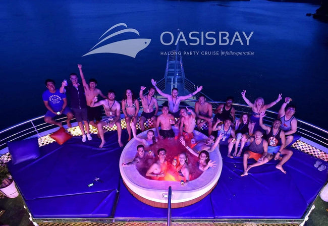 [Unbeatable Price] Oasis Bay Party Cruise - Deluxe Bayview - 2D1N - HalongDayTour