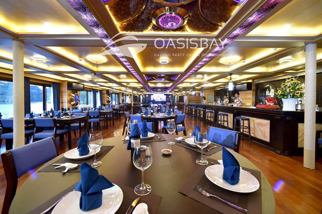 [Unbeatable Price] Oasis Bay Party Cruises - Deluxe Bayview - 3D2N - HalongDayTour