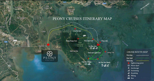 [Unbeatable Price] Peony Cruises - Deluxe Cabin with Balcony - 2D1N - HalongDayTour