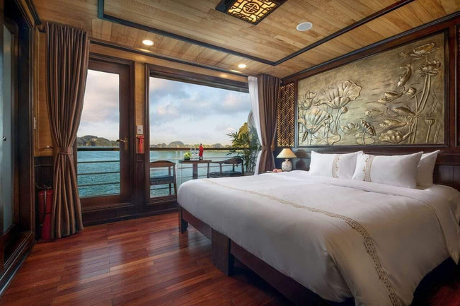 [Unbeatable Price] Perla Dawn Sails - Junior Suite Balcony - 2D1N - HalongDayTour