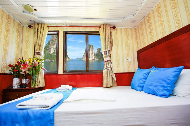 [Unbeatable Price] Sunlight Classic Cruise - Double Room - 2D1N - HalongDayTour
