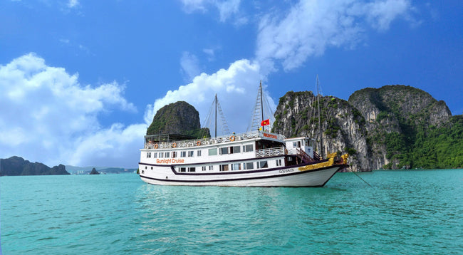 [Unbeatable Price] Sunlight Halong Cruise - Deluxe Cabin - 2D1N - HalongDayTour