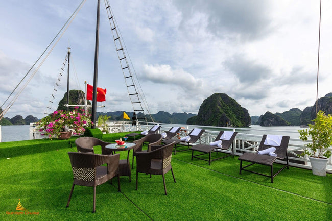 [Unbeatable Price] Sunlight Halong Cruise - Deluxe Cabin - 3D2N - HalongDayTour