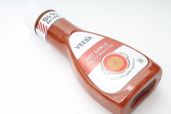 VEEBA HOT GARLIC STIR FRY SAUCE & DIP 330GM