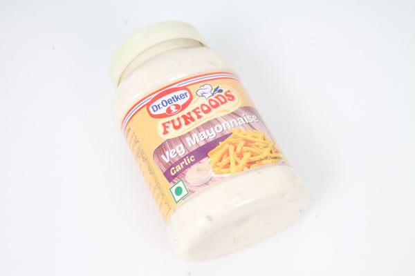 FUNFOOD GARLIC EGGLESS MAYONNAISE 275 GM