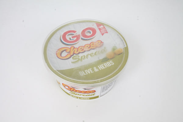 GO CHEESE SPREAD OLIVE & HERBS 200 GM