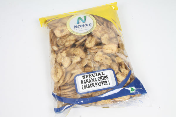 SPECIAL BANANA CHIPS BLACK PAPPER 200 GM