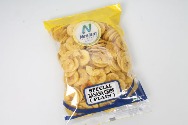 SPECIAL BANANA CHIPS PLAIN,SALTED 200GM