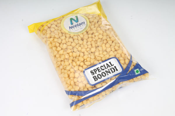 BOONDI PLAIN,SALTED 200GM