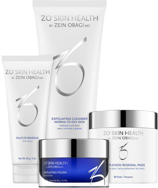 ZO ACNE PREVENTION AND TREATMENT PROGRAM KIT