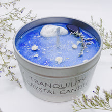 Load image into Gallery viewer, Tranquility Crystal Candle