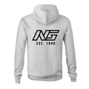 Name Plate Hoodie - Heather Gray