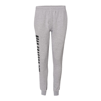 Name Plate Joggers - Heather Gray