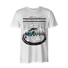 Bristol Burnout Tee - White