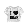 I Heart Noah Gragson Crop Top