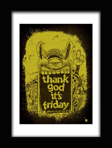 Poster- Thank God it's Friday