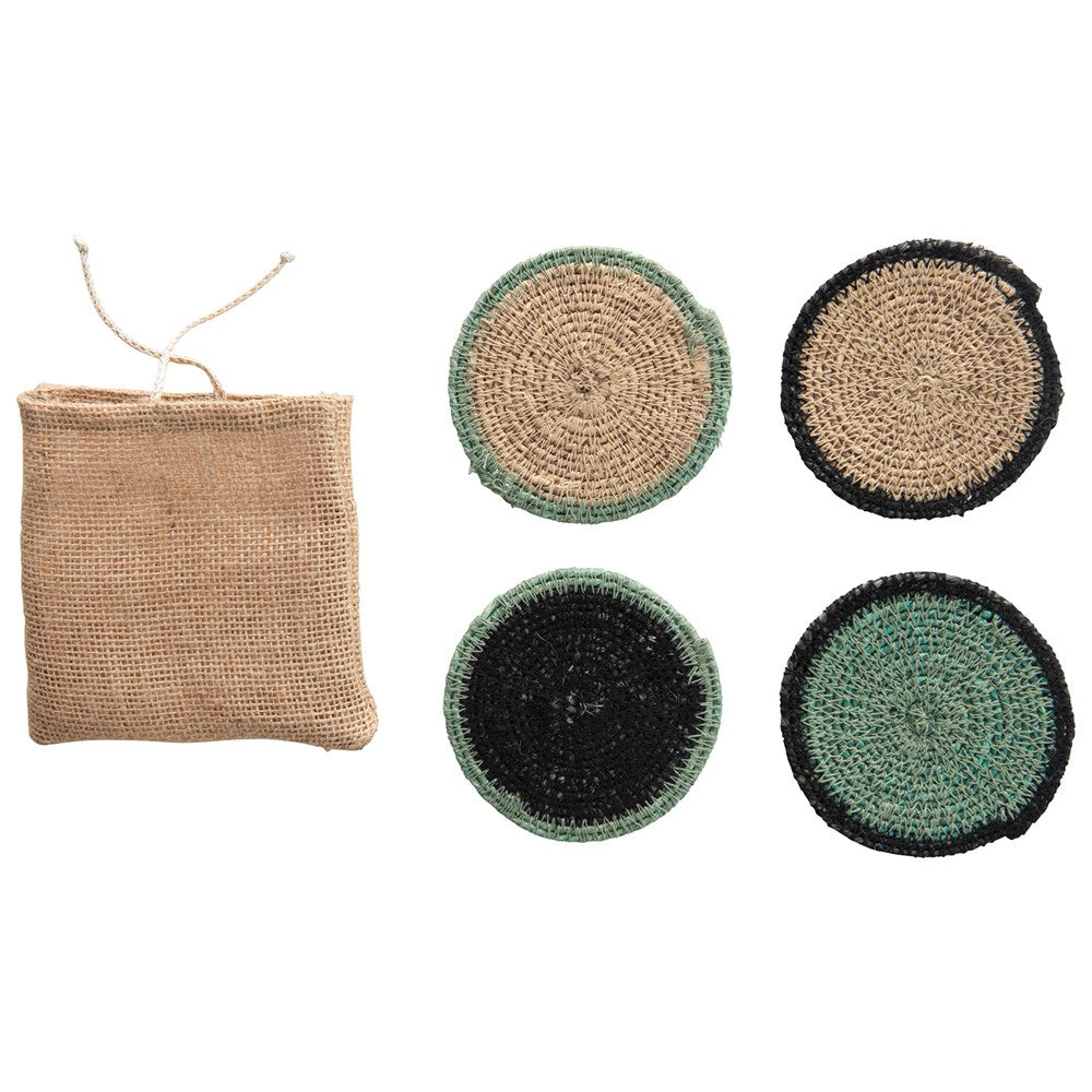 SET 4 POSAVASOS SEAGRASS