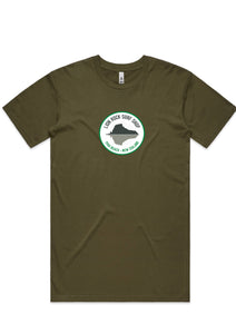 Mens Tee's- Circle Lion Rock Print.