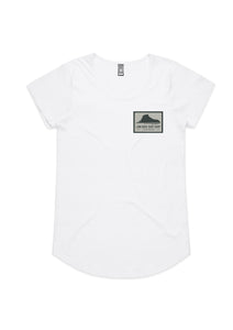 Womens Tees: Small Logo Print.